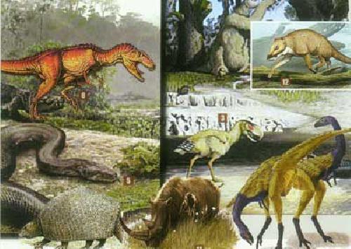 پاورپوینت با موضوع: جانوران ما قبل تاریخ چگونه زندگی می کردند
